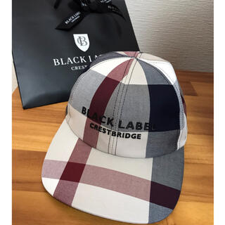 BLACK LABEL CRESTBRIDGE - 【新品】ブラックレーベルクレストブリッジ 限定カラー ベージュ キャップ