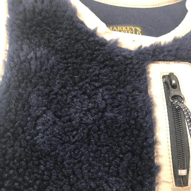 MARKEY'S(マーキーズ)のマーキーズ ボアベスト キッズ/ベビー/マタニティのキッズ服男の子用(90cm~)(ジャケット/上着)の商品写真