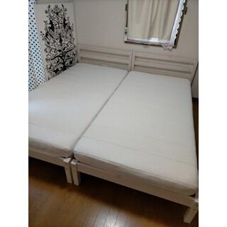 ニトリ(ニトリ)のニトリ シングルベッド2つセット(シングルベッド)