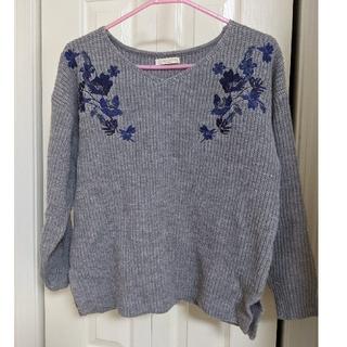 ショコラフィネローブ(chocol raffine robe)のchocol raffine robeセーター(ニット/セーター)