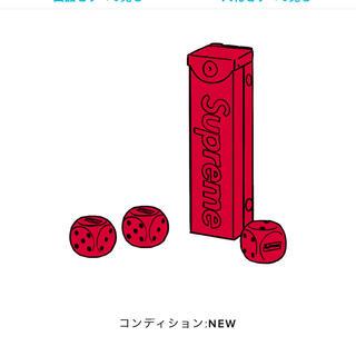 シュプリーム(Supreme)のSupreme Aluminum Dice Set Red(その他)