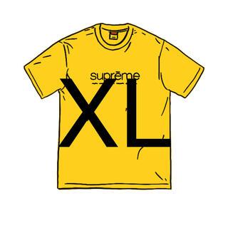 シュプリーム(Supreme)のSupreme Five Boroughs Tee XL yellow (Tシャツ/カットソー(半袖/袖なし))