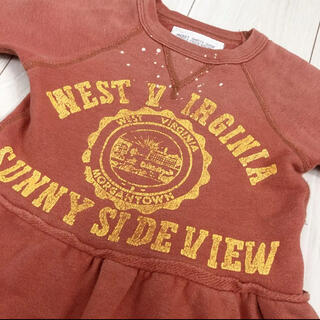 ゴートゥーハリウッド(GO TO HOLLYWOOD)のゴートゥーハリウッド GO TO HOLLEYWOOD チュールスエット100(Tシャツ/カットソー)