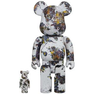 メディコムトイ(MEDICOM TOY)の新品 BE@RBRICK Jackson Pollock 100%&400%(その他)