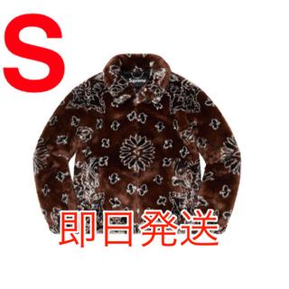 シュプリーム(Supreme)のSupreme Bandana Faux Fur Bomber Jacket 茶(その他)
