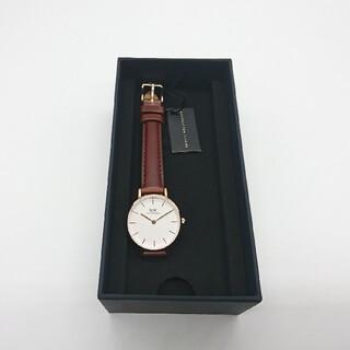 ダニエルウェリントン(Daniel Wellington)のダニエルウェリントン  28MM ローズゴールドレディース DW00100231(腕時計)
