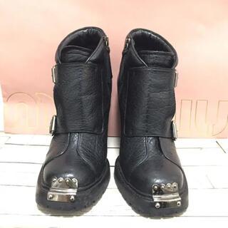 miumiu - miumiu ブーツ