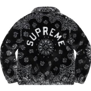 シュプリーム(Supreme)の21ss supreme Bandana Faux Fur Jacket(ブルゾン)