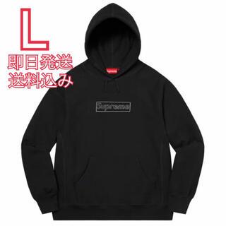 シュプリーム(Supreme)のL KAWS Chalk Logo Hooded Sweatshirt(パーカー)