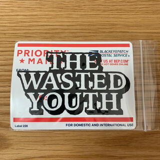 Supreme - THE WASTED YOUTH × BLACK EYE PATCH ステッカー