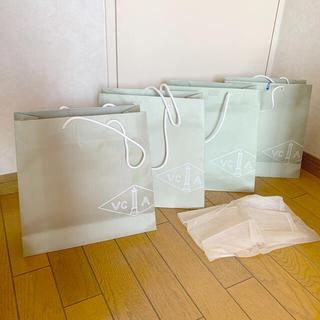 ヴァンクリーフアンドアーペル(Van Cleef & Arpels)のバンクリーフ ショッパー4枚 (ショップ袋)
