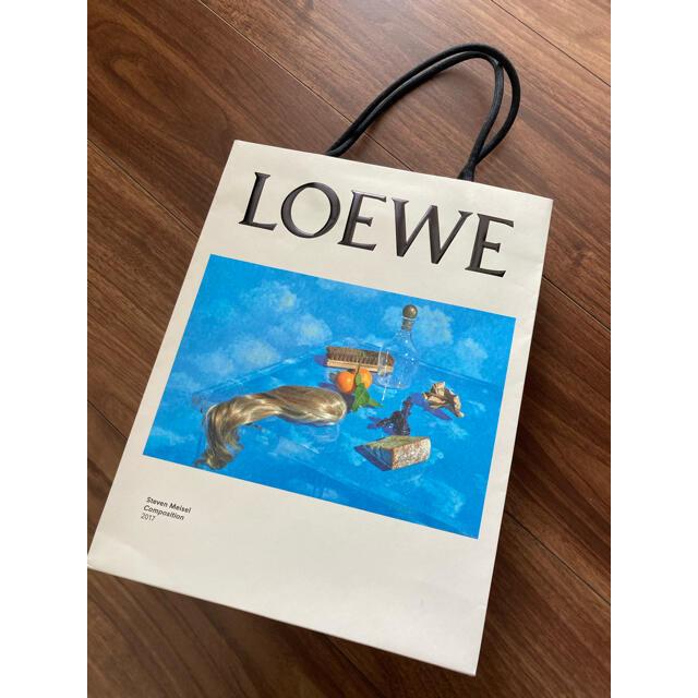 LOEWE(ロエベ)のロエベ 紙袋 ショップバッグ レディースのバッグ(ショップ袋)の商品写真