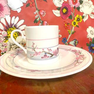 ニッコー(NIKKO)のFINE BONE CHINA NIKKO コーヒーカップ梅(食器)
