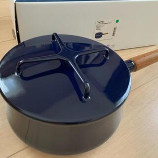 ダンスク(DANSK)のダンスク 片手鍋18センチ ミッドナイトブルー(ネイビー)(鍋/フライパン)