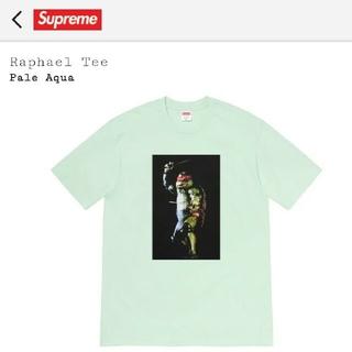 シュプリーム(Supreme)のsupreme Raphael Tee pale aqua XL(Tシャツ/カットソー(半袖/袖なし))