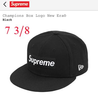 シュプリーム(Supreme)の新品未使用Supreme Champions Box Logo New Era®(キャップ)