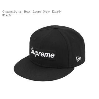 シュプリーム(Supreme)のSupreme(シュプリーム)Box Logo New Era  7 1/2(キャップ)