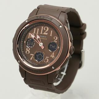 ベビージー(Baby-G)のBABY-G Dark colors ブラウン カシオ(腕時計)