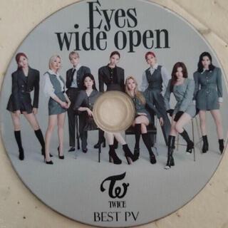 ウェストトゥワイス(Waste(twice))のTWICE 最新 Eyes wide open PV&TV&DANCE集 52曲(アイドルグッズ)