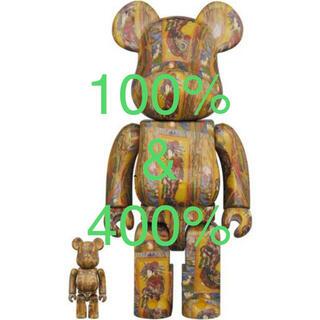 メディコムトイ(MEDICOM TOY)のBE@RBRICK Van Gogh Museum 100% & 400%(フィギュア)