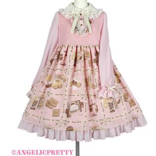 アンジェリックプリティー(Angelic Pretty)の限定値下!Cream Cookie Collectionカットワンピース jsk(ひざ丈ワンピース)