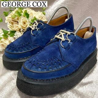 ジョージコックス(GEORGE COX)の☆定番☆ジョージコックス ギブソン 約23cm スエード 青文字(スニーカー)