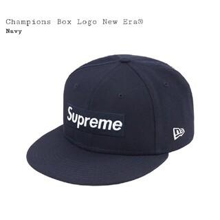 シュプリーム(Supreme)のSupreme New Era Champions Box Logo 7-1/2(キャップ)