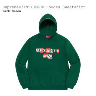 シュプリーム(Supreme)のSupreme®/ANTIHERO® Hooded Sweatshirt(パーカー)