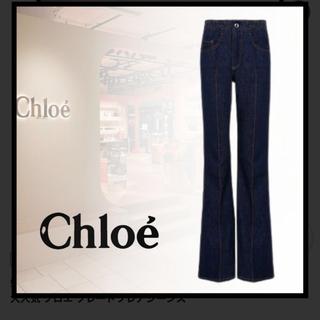 クロエ(Chloe)のchloe 美品! フレアデニム34(デニム/ジーンズ)