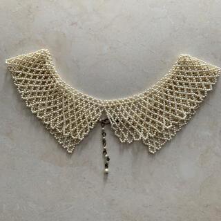 アクシーズファム(axes femme)のパール ネックレス つけ襟(つけ襟)