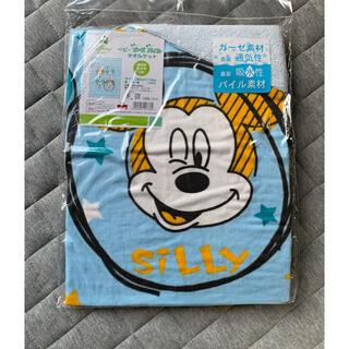 ディズニー(Disney)の週末値下げ★ミッキー ガーゼケット タオルケット お昼寝布団(タオルケット)