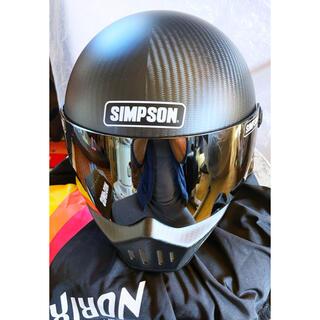 シンプソン(SIMPSON)のシンプソン M30 マットカーボン S〜Mサイズ(ヘルメット/シールド)
