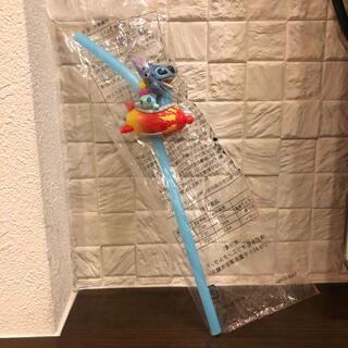 ディズニー(Disney)の【新品未開封】スティッチ 東京ディズニーリゾート ストロー(キャラクターグッズ)