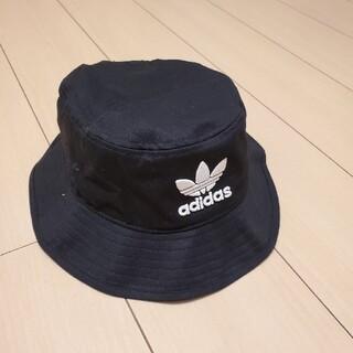 アディダス(adidas)の⭐adidas/アディダス⭐新品未使用 バケットハット ブラック(ハット)