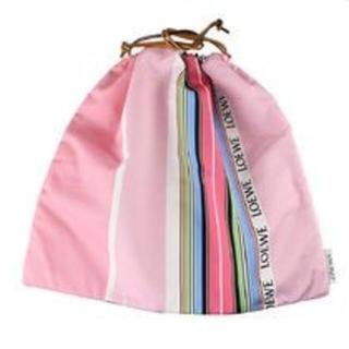 ロエベ(LOEWE)の新品未使用★ロエベLOEWE 巾着ポーチ ドローストリング ピンク(その他)