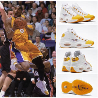 "リーボック(Reebok)のREEBOK QUESTION MID ""YELLOW TOE"" 26.0cm(スニーカー)"