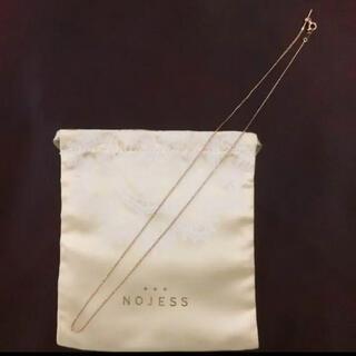 ノジェス(NOJESS)の【美品】NOJESS  ノジェス ネックレス K10  長さ45cm(ネックレス)