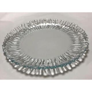 ナハトマン(Nachtmann)のPasabahce パシャバチェ オーロラプレート31cmガラス(食器)