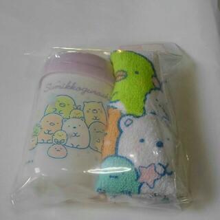 すみっコぐらし おしぼりセット コットンキャンディ(弁当用品)