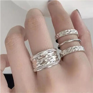TODAYFUL - silver 925 wide cover ring