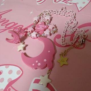 アンジェリックプリティー(Angelic Pretty)のネックレスとリングのセット① ピンク(ネックレス)
