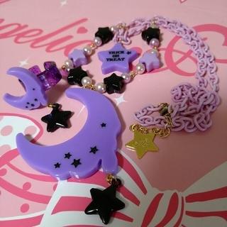 アンジェリックプリティー(Angelic Pretty)のネックレスとリングのセット② ラベンダー(ネックレス)