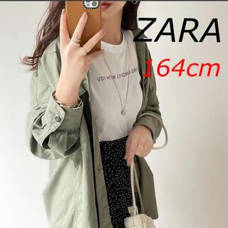 ザラ(ZARA)の新品 ZARA ロゴTシャツ 164cm(Tシャツ(半袖/袖なし))