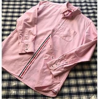 アベイル(Avail)のボタンダウンシャツ メンズM 長袖 ピンク(シャツ)
