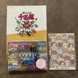 カンジャニエイト(関ジャニ∞)の関ジャニ∞ 十五祭DVD<初回限定盤>(アイドル)