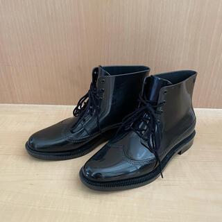 メリッサ(melissa)のMelissa メリッサ レースアップ レインブーツ 黒/23cm(レインブーツ/長靴)