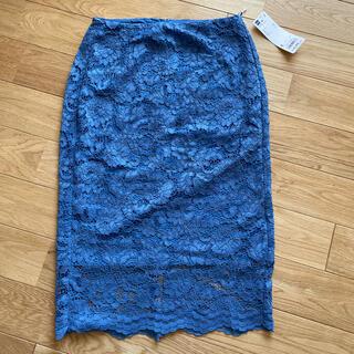 GU - 新品未使用!GU レースタイトスカート