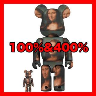 メディコムトイ(MEDICOM TOY)のBE@RBRICK Mona Lisa 100% 400% ダヴィンチ モナリザ(フィギュア)