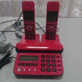 パイオニア(Pioneer)のPioneer コードレス電話機 子機2台(その他)
