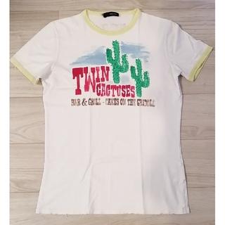 ディースクエアード(DSQUARED2)のディースクエアード・Tシャツ サボテン(Tシャツ/カットソー(半袖/袖なし))